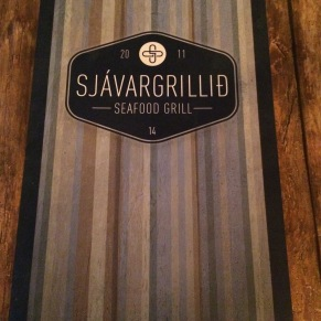 Sjávargrillid - you it, it's Seafood grill