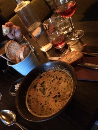 Shellfish soup!